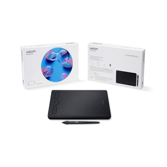 Wacom Intuos Pro Digital Graphic Drawing Tablet for Mac or PC, Small (PTH460K0)