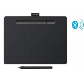 """Wacom Intuos Wireless Graphics Drawing Tablet with 3 Bonus Software Included, 10.4"""" X 7.8"""", Pistachio & Black (CTL6100WLK0)"""