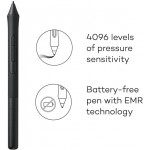 """Wacom CTL4100 Intuos Graphics Drawing Tablet with 3 Bonus Software included, 7.9""""x 6.3"""", Black"""