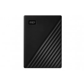 WD 1TB My Passport Portable External Hard Drive, Black -